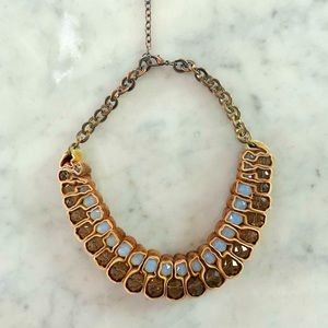 Handmade artisanal statement piece necklace